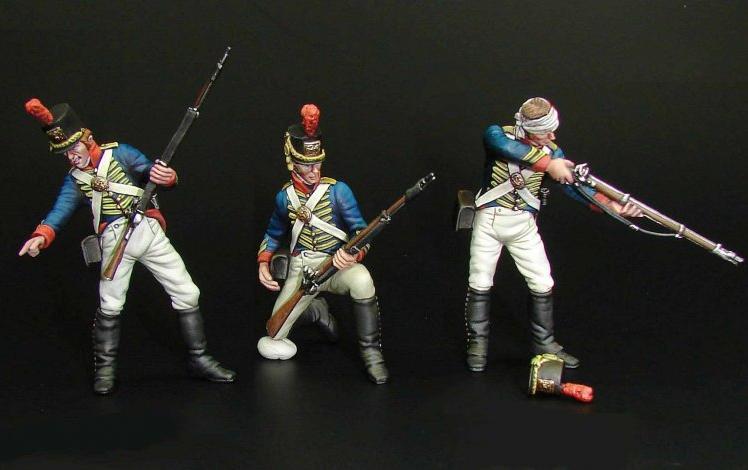 US Marine Sharpshooters, 1814 (Flagship Models, FM13536)