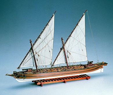 Arrow, American Gunboat (Amati, 1/55)