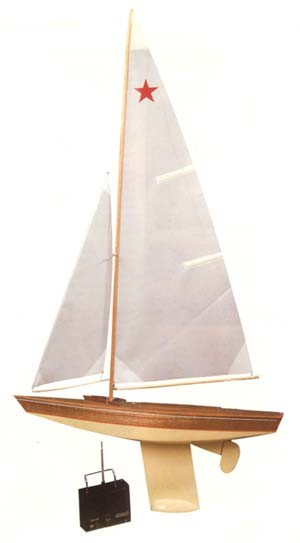 "30"" Star Class Sailboat (Dumas)"