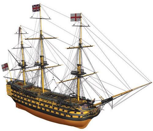 HMS Victory (Billing Boats, 1:75)