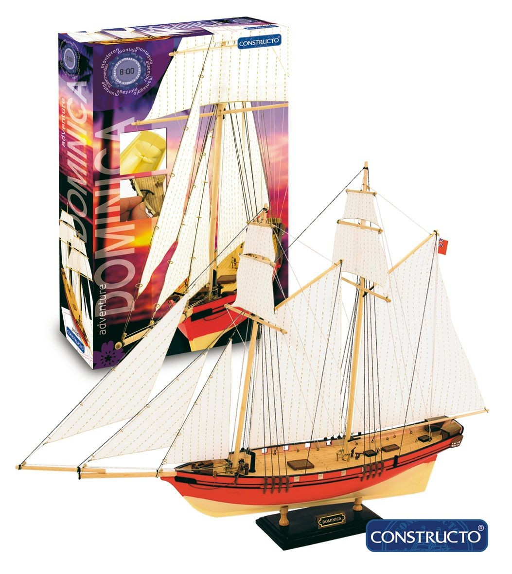 Dominica Entry Level Ship Kit (Constructo)