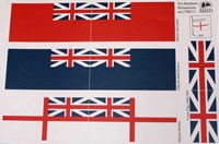 Great Britain Flags (1700-1800, AM5700/17)