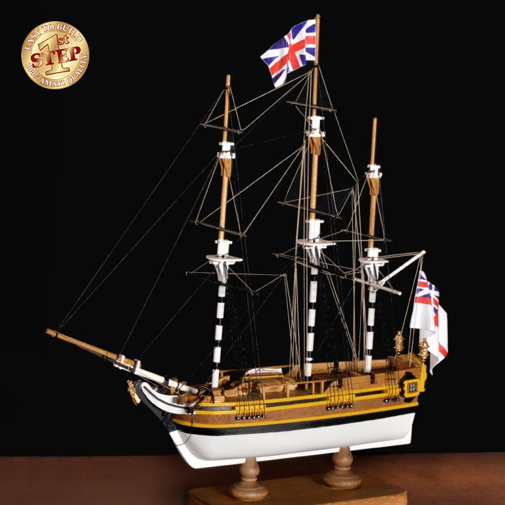 HMS Bounty 1st Step Kit (Amati 1:135)