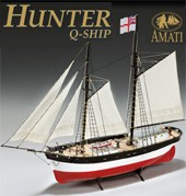 Hunter Q-Ship (Amati 1:60) ON SALE