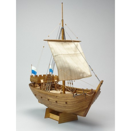 Kogge von Kampen Wooden Model (Shipyard, 1:72)