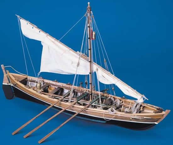 Lancia Baleniera Whale Boat (Mantua 1:16)