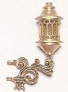 Brass Stern Lantern (30mm, AM4338/03)