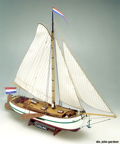 Catalina Dutch Pleasure Yacht (Mamoli, 1:35)