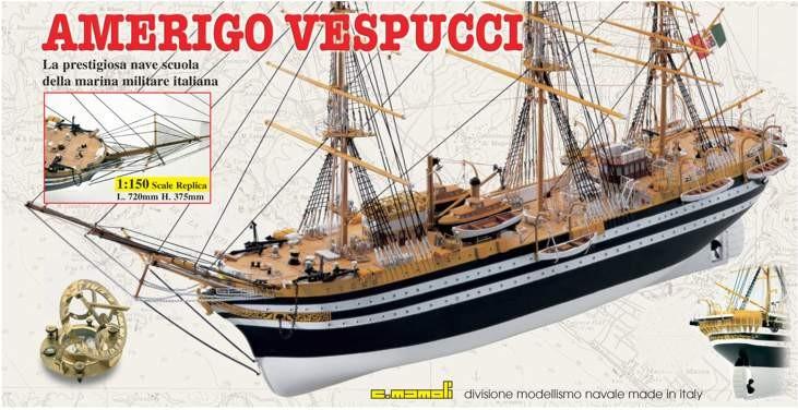 Amerigo Verpucci (Mamoli, 1:150)
