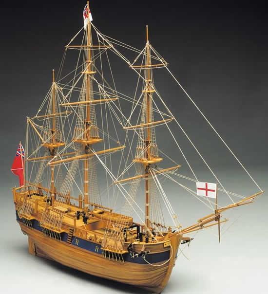 HMS Endeavour (Mantua, 1:60)