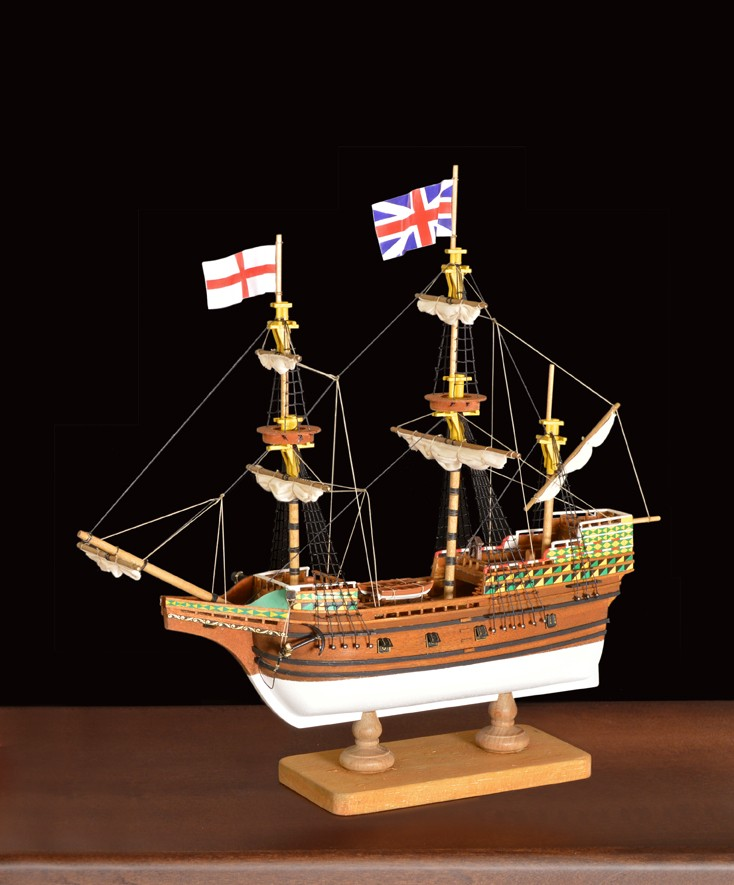 Mayflower- 1st Step (Amati, 1:135)