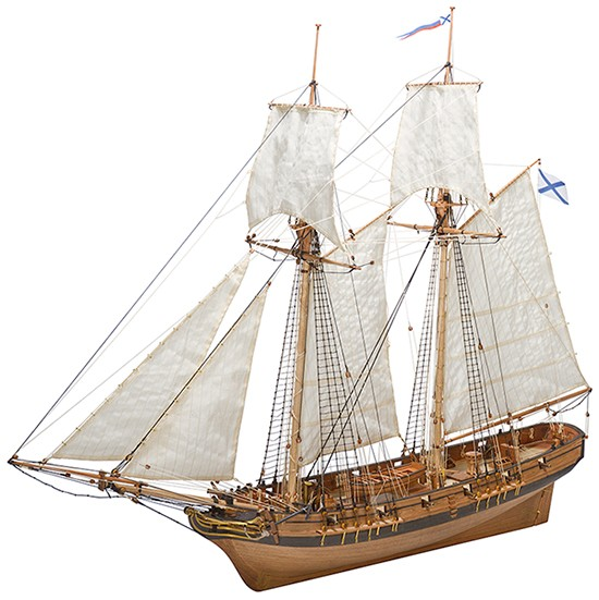 "Schooner Polotsk ""Plus Edition"" (Master Korable, 1:72)"
