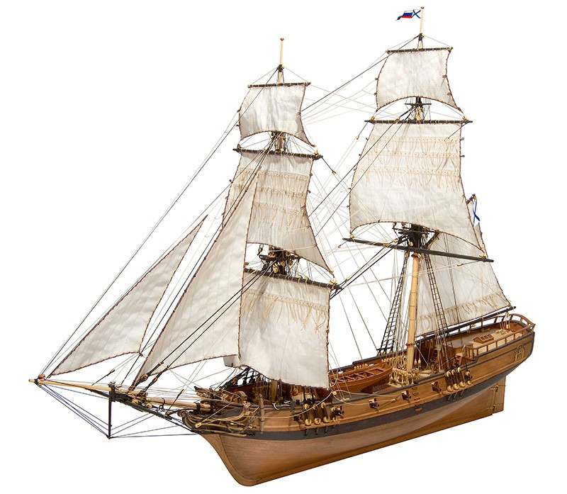 Sails for Brigantine Phoenix (Master Korabel)
