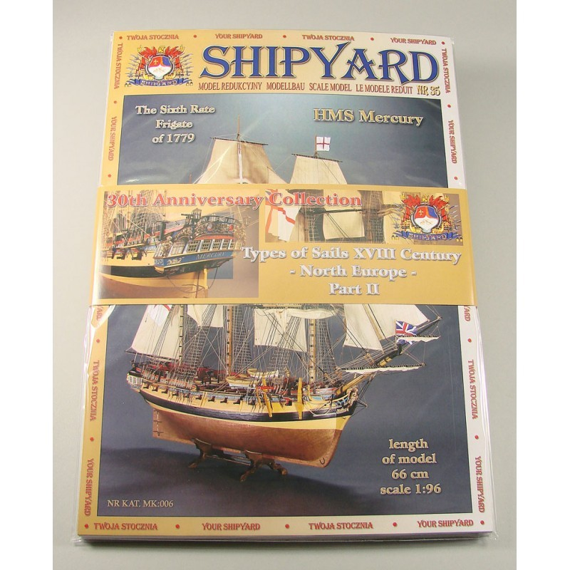 30th Anniversary Collection- North Europe Part 2 Paper Kits (Shipyard 1:96)