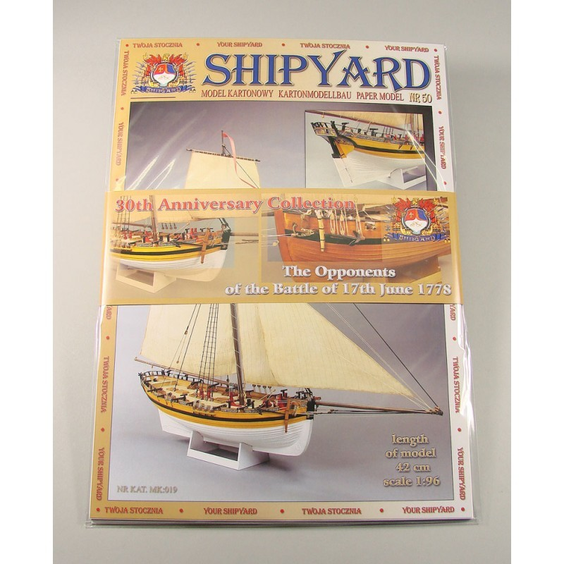 30th Anniversary Collection- The Opponents Paper Kits (Shipyard 1:96)