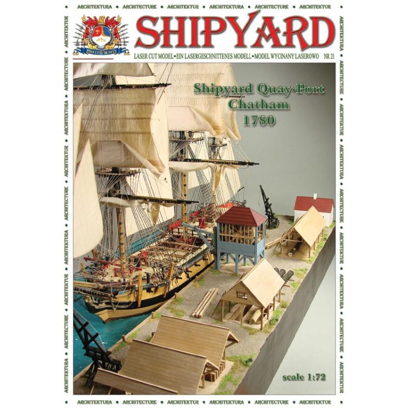 QuayPort - Chatham 1780 Paper Kit (Shipyard 1:72)