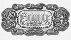 Chinese Junk Nameplate (AM5621/01L)