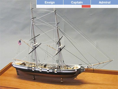 USS Perry (Bluejacket, Scale: 1/8)