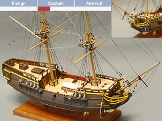 Pirate Brig (BlueJacket 1:64)