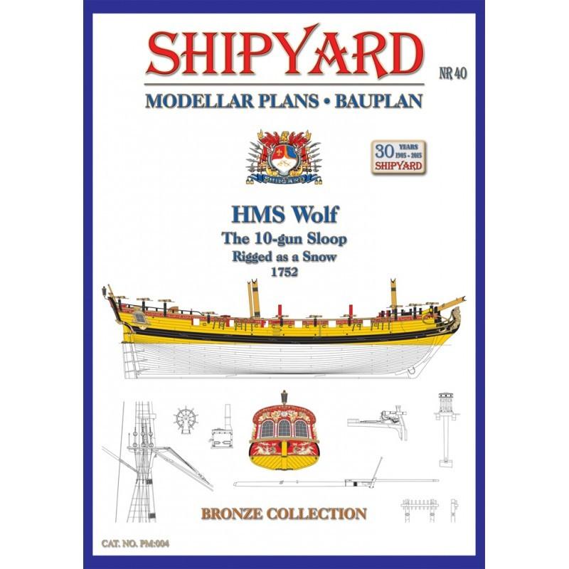 HMS Wolf Modellar Plans (Shipyard)