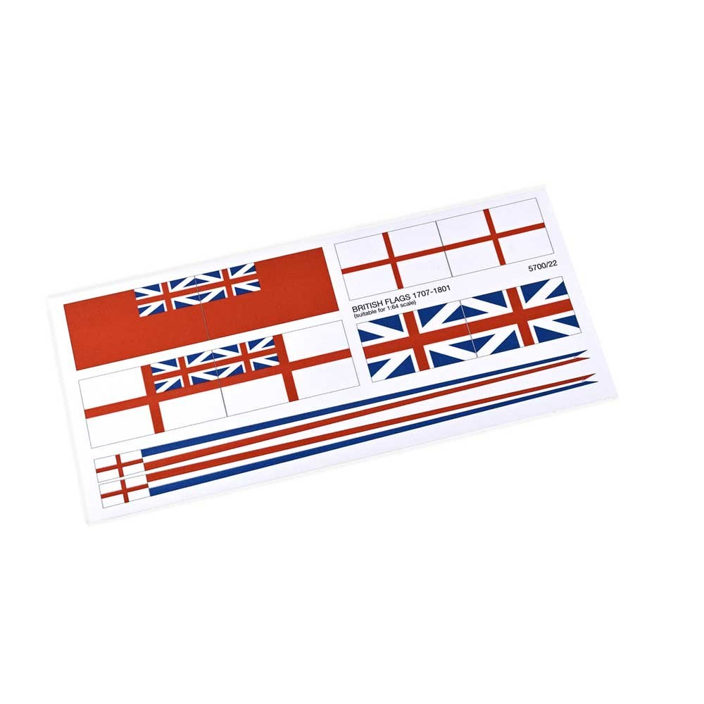 British Flag Set, 1707-1801 (AM5700/22)