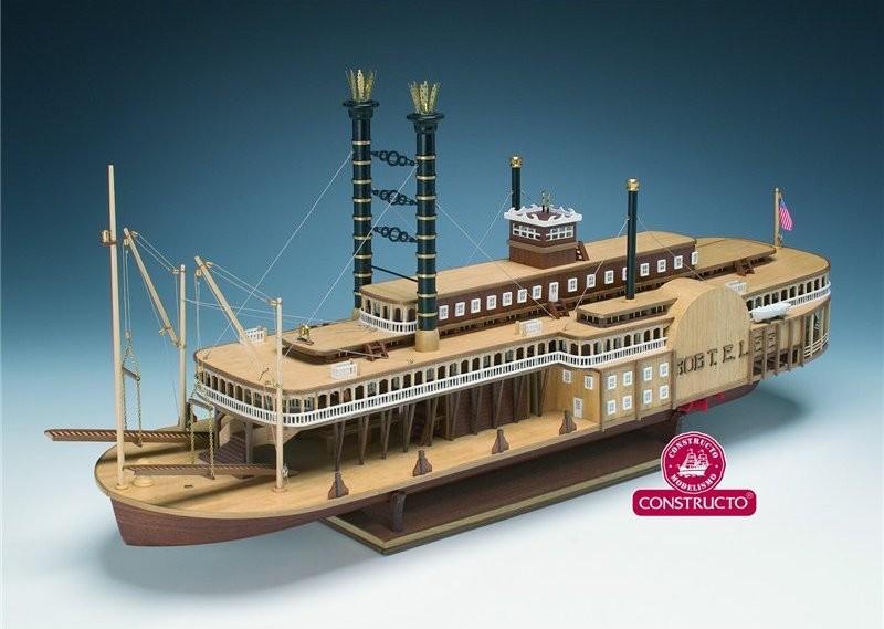 Robert E. Lee River Boat (Constructo 1:140)