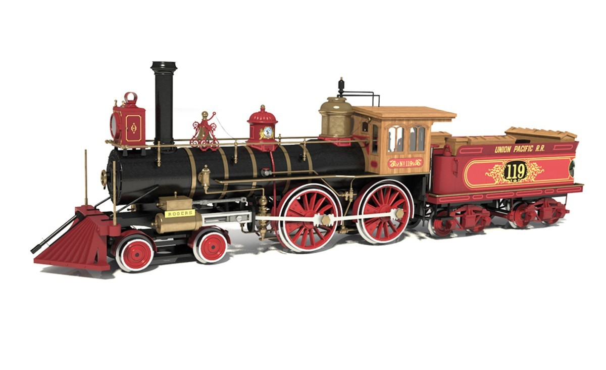 Rogers 119 Locomotive (OcCre 1:32)