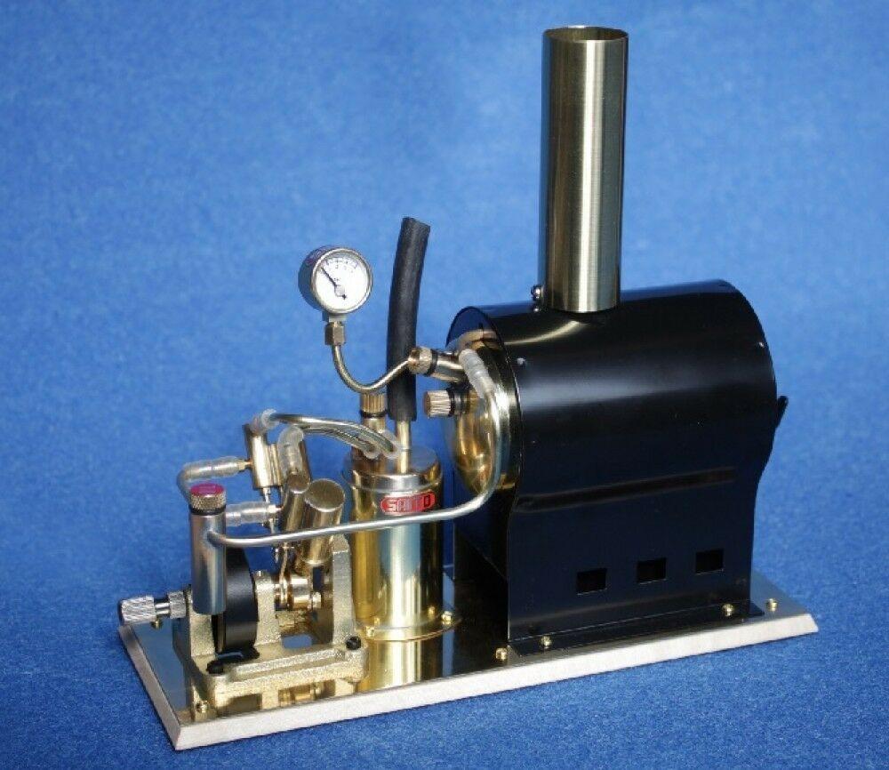 Steam Engine and Boiler Set V2 & OB1 (Saito)