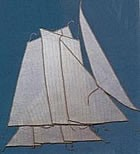 Greek Bireme Sails Set (AM5618/01)