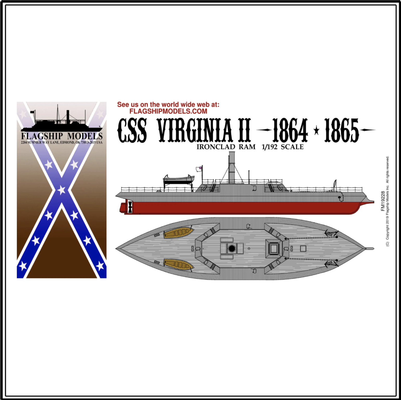 "CSS VIRGINIA II (Flagship, 12"" long)"
