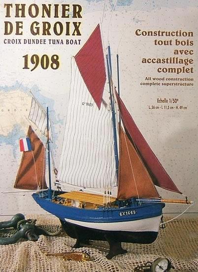 St Gildas, Groix Tuna Boat (1:50, Soclaine)