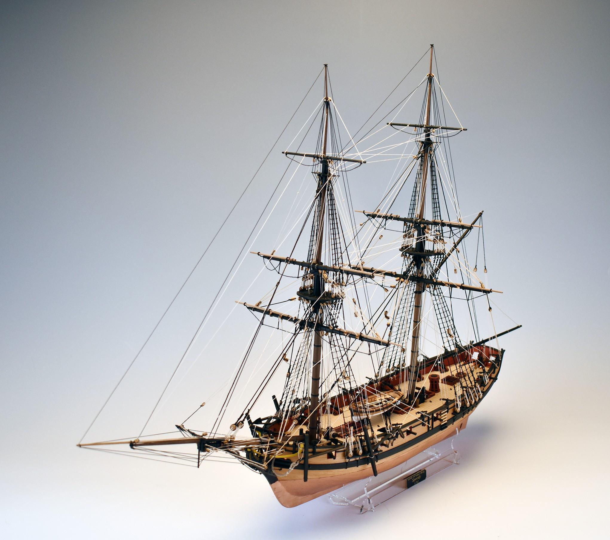 HMS Speedy (Vanguard Models 1:64)