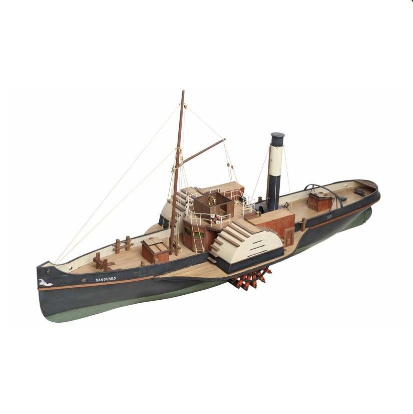 Wooden Paddle Tug Vanguard (Disar 1:50)