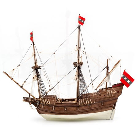 Willem Barentsz' Expedition Ship (Kolderstok, 1:50)