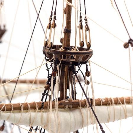 Sail Kit for De Zeven Provincien (Kolderstok)