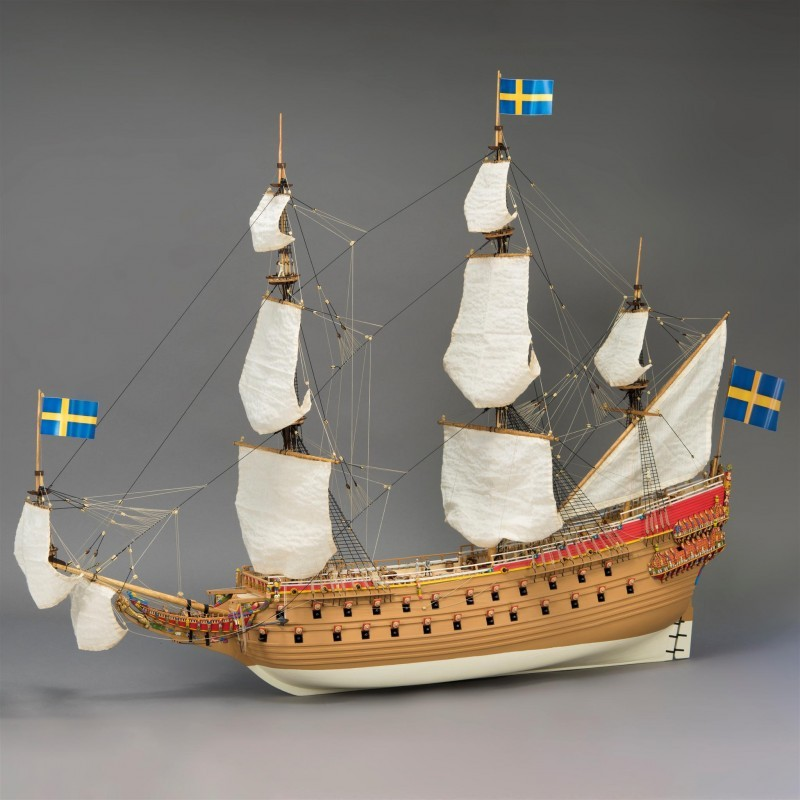 Swedish Warship Vasa (Artesania latina, 1:65)