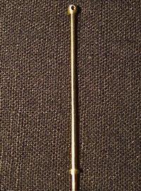 1 Hole Brass Stanchion 40mm (10/pk, CC66140)