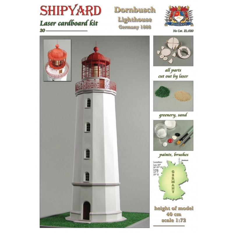 Dornbusch Lighthouse Laser Cardboard Kit (Shipyard 1:72)