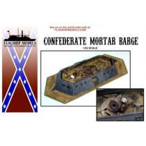 Confederate Mortar Barge (Flagship, 1:32)