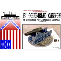 "15"" Columbiad Cannon (Flagship, 1:32)"