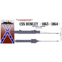 CSS Hunley (Flagship, 1:72)