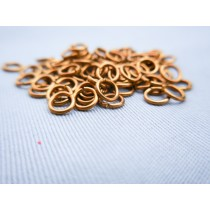 Brass Rings, 4mm (100/pk, AM4000/04)