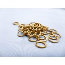Brass Rings, 5mm (50/pk, AM4000/05)