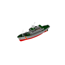 FPV Westra Scottish Fisher Protection Vessel (Turk, 1:50)