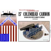 "15"" Columbiad on Iron Pintle Barbette Carriage (Flagship 1:32)"