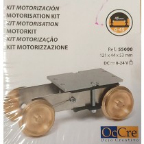 Motorization for G-45 Scale Trains and Trams (OcCre)