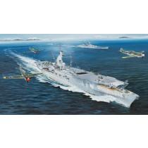 German Navy Aircraft Carrier DKM Peter Strasser (Trumpeter, 1:350)