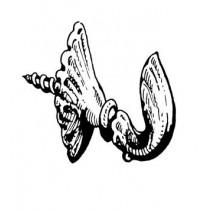 Metal Engraved Hooks 33mm(Amati, AM6090)