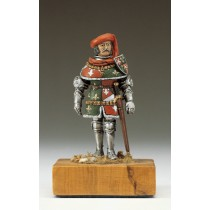 Burgundy Knight Figurine, XV Century (Amati)