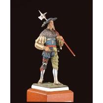 Landskenecht Figurine - Germany, XVI Century (Amati)
